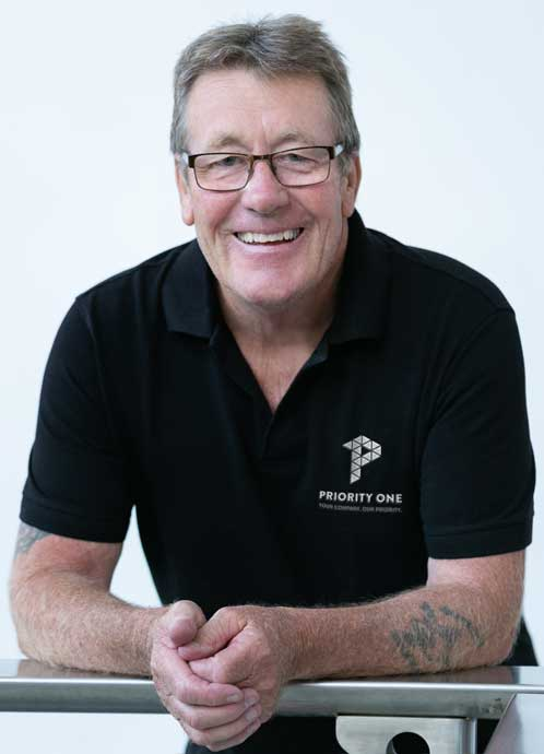 Priority One Holdings Founder, Alan McClymans