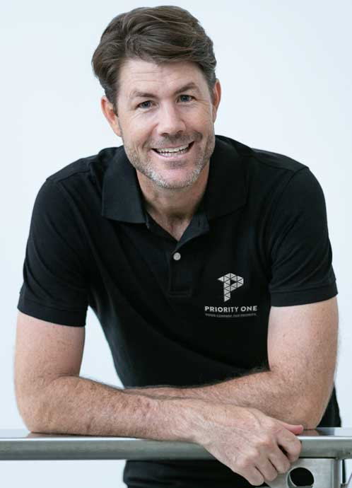 Priority One Holdings Operations Manager, Ben McClymans