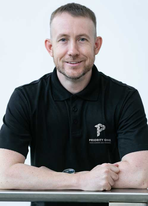 Priority One Holdings Company Director, Travis McClymans
